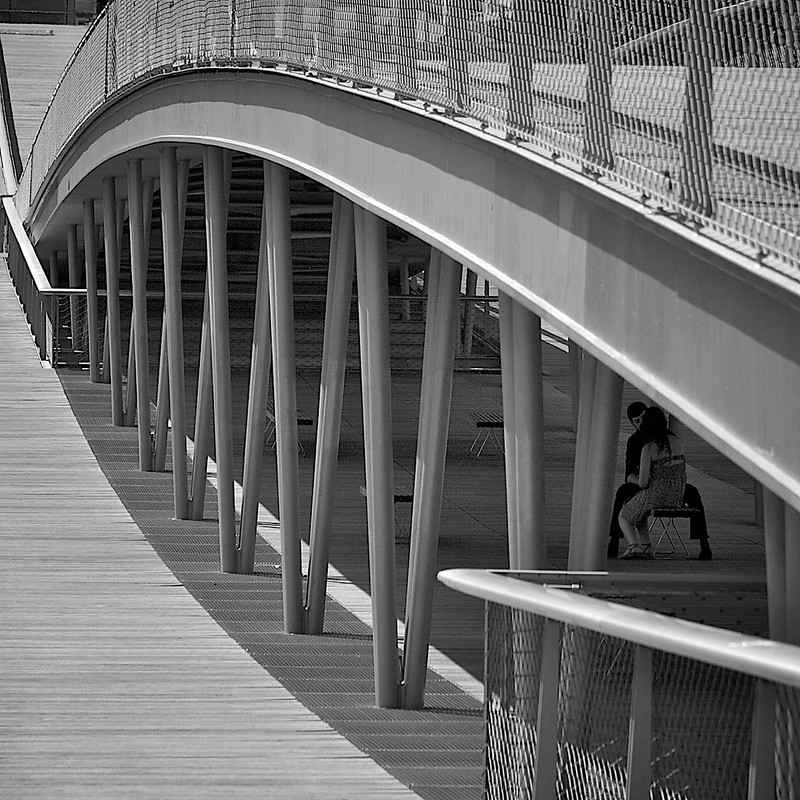 The Passerelle Simone-de-Beauvoir