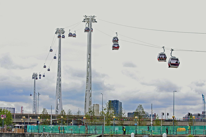 The Emirates Air Line cable car, London