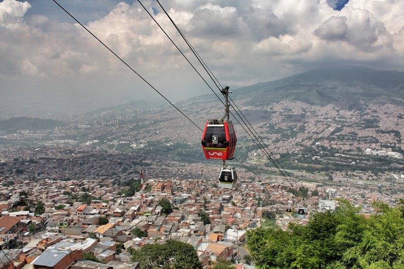 The Medellín Metrocable