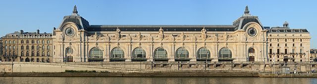 The exterior of the Musée d'Orsay