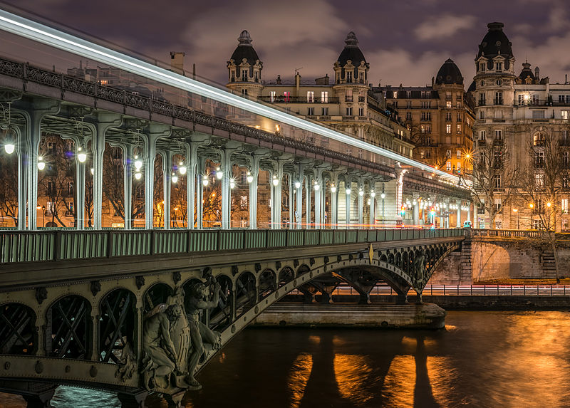 The Pont de Bir-Hakeim